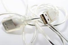 De kabels van gegevens Stock Afbeelding