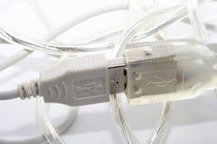 De kabels van gegevens Stock Foto