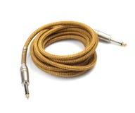 De kabels van het instrument stock foto