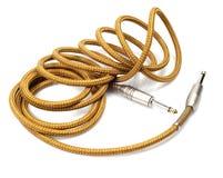 De kabels van het instrument stock foto's