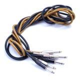 De kabels van het instrument royalty-vrije stock foto's