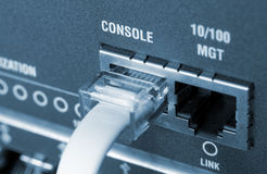 De kabels van het netwerk Royalty-vrije Stock Foto's