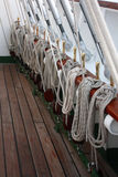 De Kabels van het schip Stock Fotografie