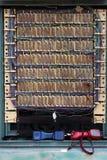 De Kabels van het telefoonnetwerk Stock Foto