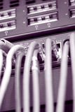 De kabels van Internet royalty-vrije stock afbeeldingen