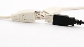 De Kabels van Usb Royalty-vrije Stock Afbeelding