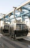 De kabelwagen van Doubai stock afbeeldingen