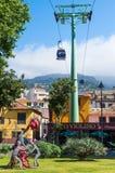 De Kabelwagen van Funchal, Madera Royalty-vrije Stock Foto's