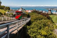 De kabelwagen van Wellington Stock Foto