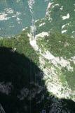 De Kabelwagenlijn van berghuashan Royalty-vrije Stock Fotografie