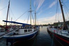 De Kade van de Stad van Stockholm Royalty-vrije Stock Foto's