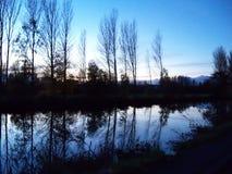 De kade van Exeter door de rivier Exe Royalty-vrije Stock Foto's