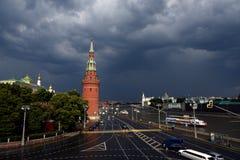 De kade van het Kremlin royalty-vrije stock afbeelding