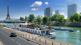 De Kade van Pompidou. Stock Foto