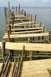 De Kade van vissers Stock Foto