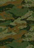 De kaki camouflage van de wildernismodder herhaalt patroon Stock Afbeeldingen