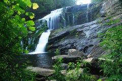 De kale Waterval van de Rivier stock foto