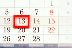 De kalender Royalty-vrije Stock Foto's