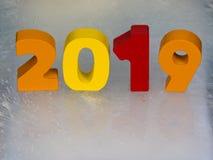 de kalender van 2019 Stock Foto