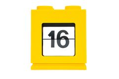 De kalender van de datum Stock Fotografie
