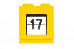 De kalender van de datum Royalty-vrije Stock Foto