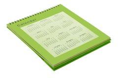 De kalender van de Desktop Royalty-vrije Stock Afbeelding