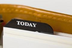 De kalender van de zak Stock Afbeelding
