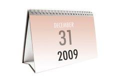 De Kalender van het bureau Royalty-vrije Stock Afbeeldingen