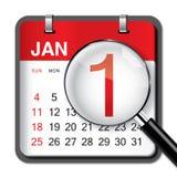 De Kalender van het nieuwjaar Royalty-vrije Stock Foto