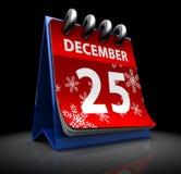 De kalender van Kerstmis Stock Foto