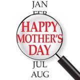 De kalender van de moedersdag Royalty-vrije Stock Afbeelding