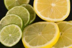 De Kalk van de citroen royalty-vrije stock foto
