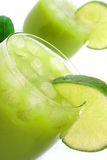 De kalk van de cocktail stock foto's