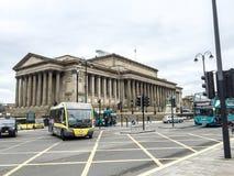 De Kalkstraat van Liverpool, Liverpool, het UK Stock Afbeeldingen