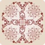 De kalligrafische elementen van Florel. uitstekend ornament Royalty-vrije Stock Foto's