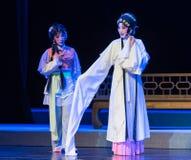 """de kalmerenen-Purpere Haarspeld--jiangxi opera""""four dromen van linchuan† Royalty-vrije Stock Afbeeldingen"""