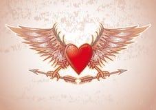 De kam van het hart Stock Foto's