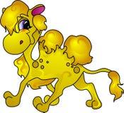 De kameel van het beeldverhaal vector illustratie