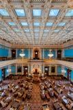De kamer van de Senaat van de Staat van Michigan royalty-vrije stock foto's