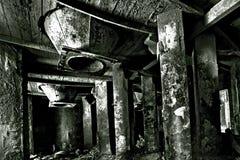 De kamer van Techological in cementfabriek Stock Fotografie