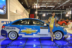 De Kampioen 2010 van de Wereld van Cruze WTCC van Chevrolet Stock Afbeelding