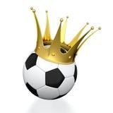 De kampioen van de voetbal Stock Afbeelding