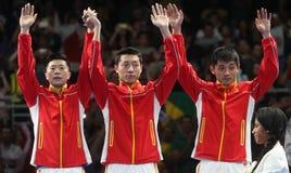 De Kampioen van het teamolymic van China bij de Olympische Spelen in Rio 2016 royalty-vrije stock afbeelding