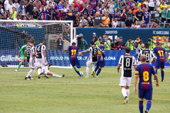 2017 de Kampioenenkop FC Barcelona van int. ` l versus Juventus Stock Afbeeldingen