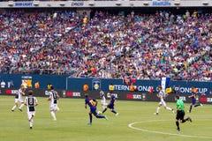 2017 de Kampioenenkop FC Barcelona van int. ` l versus Juventus Royalty-vrije Stock Afbeeldingen