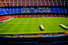 De kampioenenliga van Barcelona van kampnou Royalty-vrije Stock Foto's