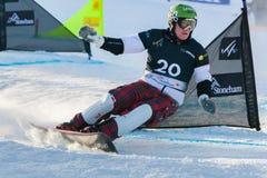 De Kampioenschappen 2013, Stoneham van de Wereld FIS Snowboard Royalty-vrije Stock Afbeelding
