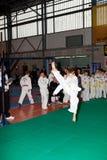 De kampioenschappen taekwon- Stock Afbeeldingen