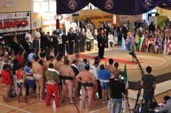 De Kampioenschappen van Sumo Royalty-vrije Stock Foto