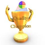De kampioenskop van de kwaliteit Stock Afbeeldingen